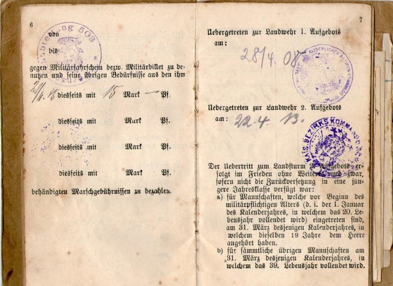 Militarpass et soldbuch familiaux : un télégraphiste alsacien !  Img06710