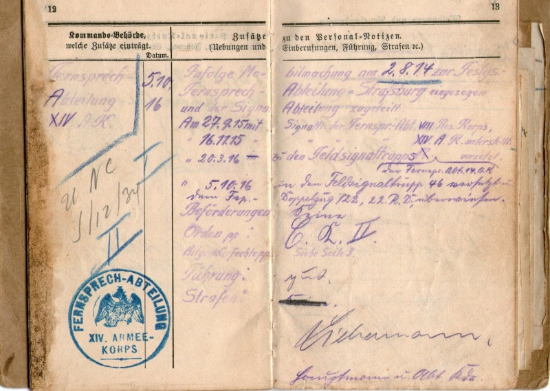 Militarpass et soldbuch familiaux : un télégraphiste alsacien !  Img06810