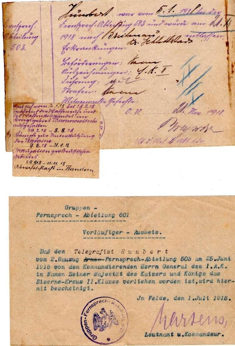 Militarpass et soldbuch familiaux : un télégraphiste alsacien !  Img07410