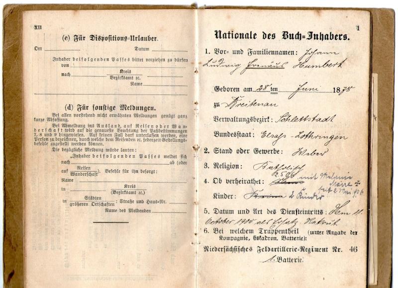 Militarpass et soldbuch familiaux : un télégraphiste alsacien !  Img07610