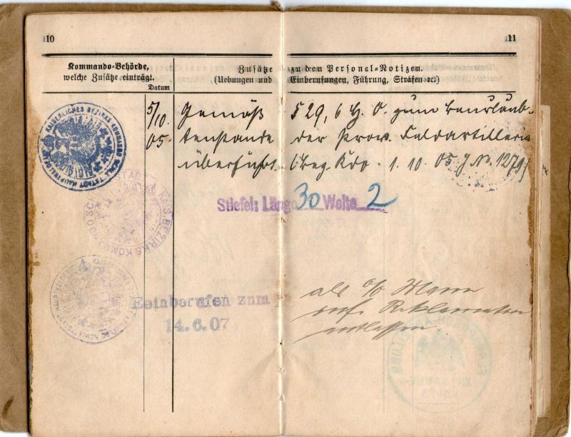 Militarpass et soldbuch familiaux : un télégraphiste alsacien !  Img08110