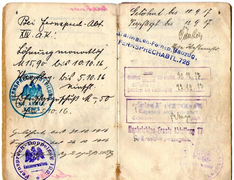 Militarpass et soldbuch familiaux : un télégraphiste alsacien !  Img08910