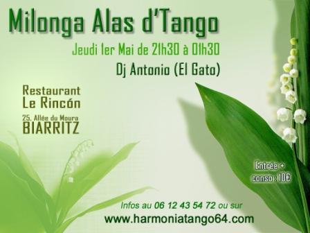 Milonga Alas d'Tango à Biarritz Milong10