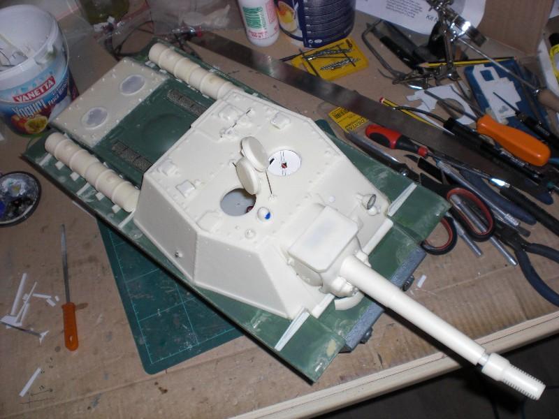 SU-152 kit build & review  [COMPLETATO] Assemb10