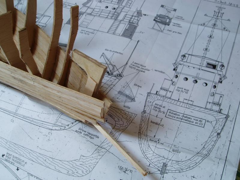 Les plans d'un MSC Cla_8410