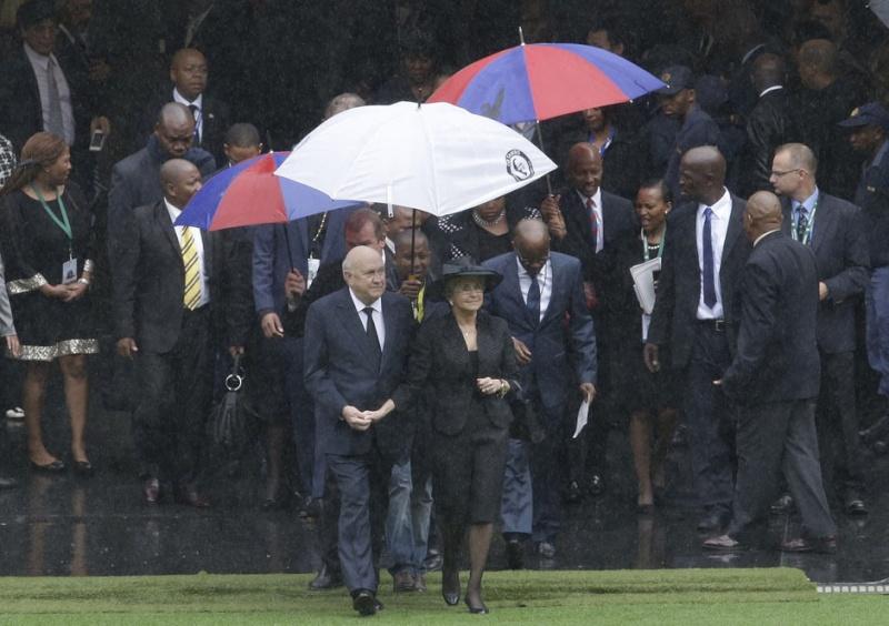 Nelson Mandela a tiré sa révérence South_11