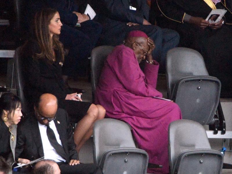 Nelson Mandela a tiré sa révérence Tutu10