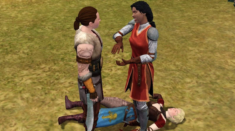 A Goodly Length in Times Past: Glimpses from Sims Medieval Scree370