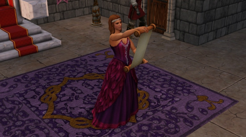 A Goodly Length in Times Past: Glimpses from Sims Medieval Scree391