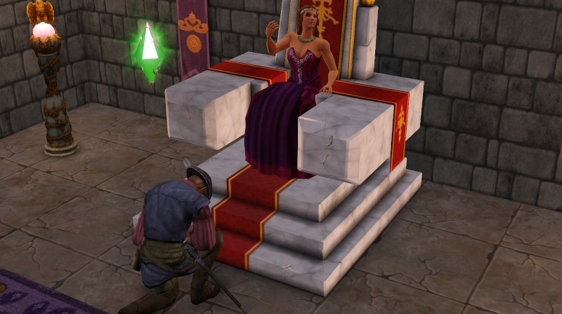 A Goodly Length in Times Past: Glimpses from Sims Medieval Scree393