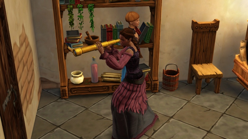 A Goodly Length in Times Past: Glimpses from Sims Medieval - Page 2 Scree405
