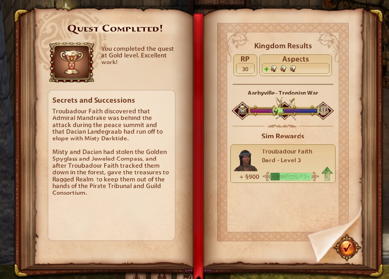 A Goodly Length in Times Past: Glimpses from Sims Medieval - Page 2 Secret10