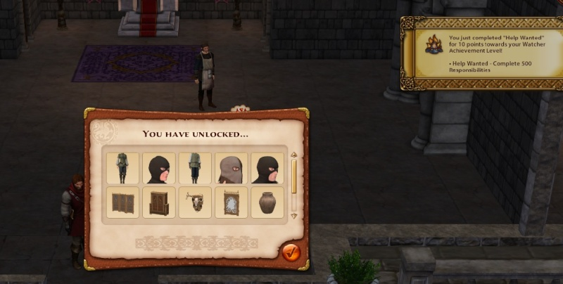 A Goodly Length in Times Past: Glimpses from Sims Medieval Unlock10