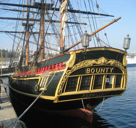 H.M.A.V. La BOUNTY Echelle 1/46 ème DEL PRADO - Page 3 Bounty11