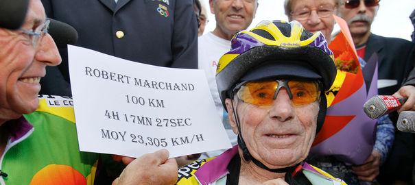 Robert Marchand, la course au record à… 102 ans ! French10