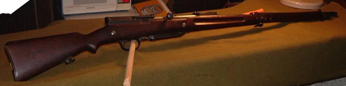 Le fusil Meunier A6 modèle 1916 20075110