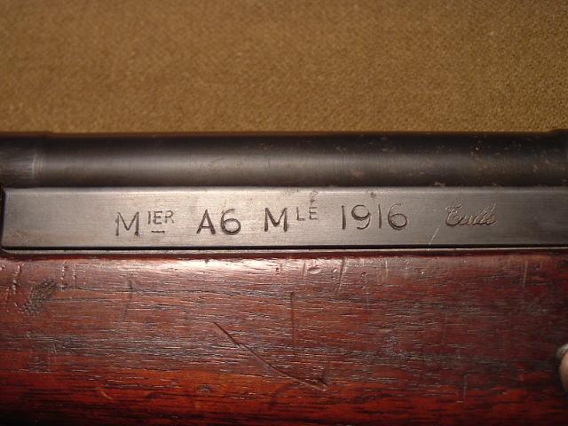 Le fusil Meunier A6 modèle 1916 20075116