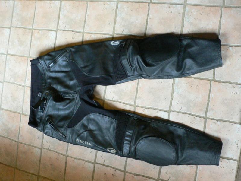 Pantalon cuir richa P1090114