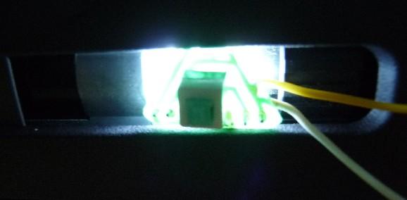 Tracer Illuminator pour bloc hop-up transparent  G999 WE A10