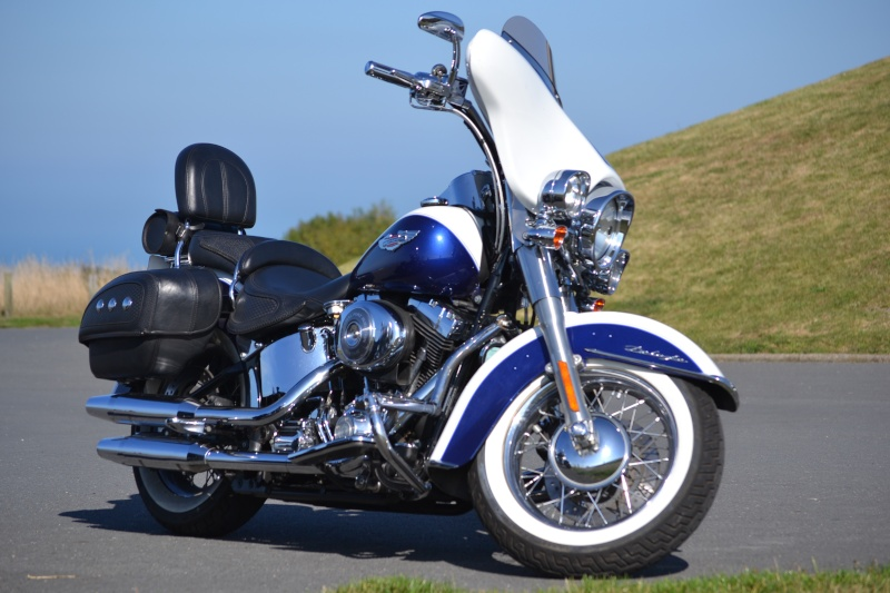 CVO Softail Deluxe 2014 Candy Cobalt: the Blue Diamond - Page 3 Dsc_4611
