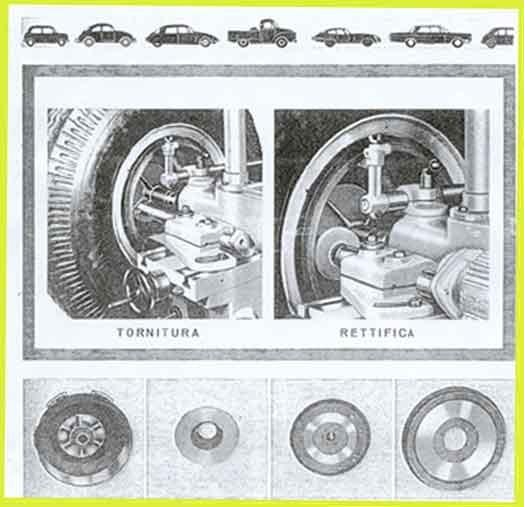 Machine a tourner & rectifier tambours et disques de freins Bertoni & Cotti, Berco MTF / 2 948_2_10