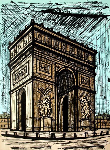Bernard Buffet [peintre] - Page 2 Arc_de10