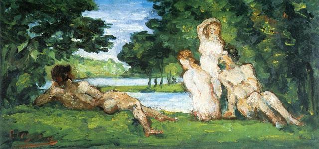 Un peintre, un auteur : Cézanne - Page 2 Bather10