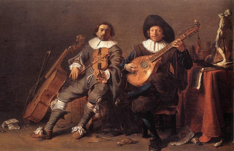 La musique dans la peinture - Page 8 Cornel10