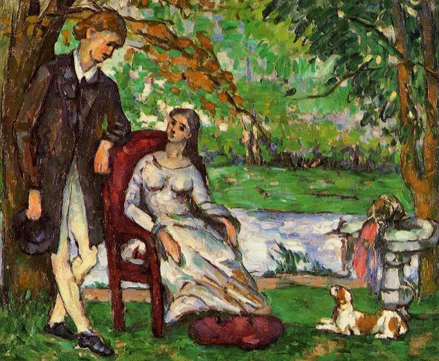 Un peintre, un auteur : Cézanne - Page 2 Couple10