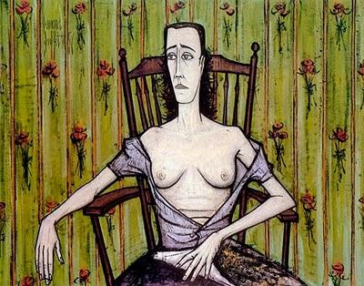 Bernard Buffet [peintre] - Page 2 Femme_11