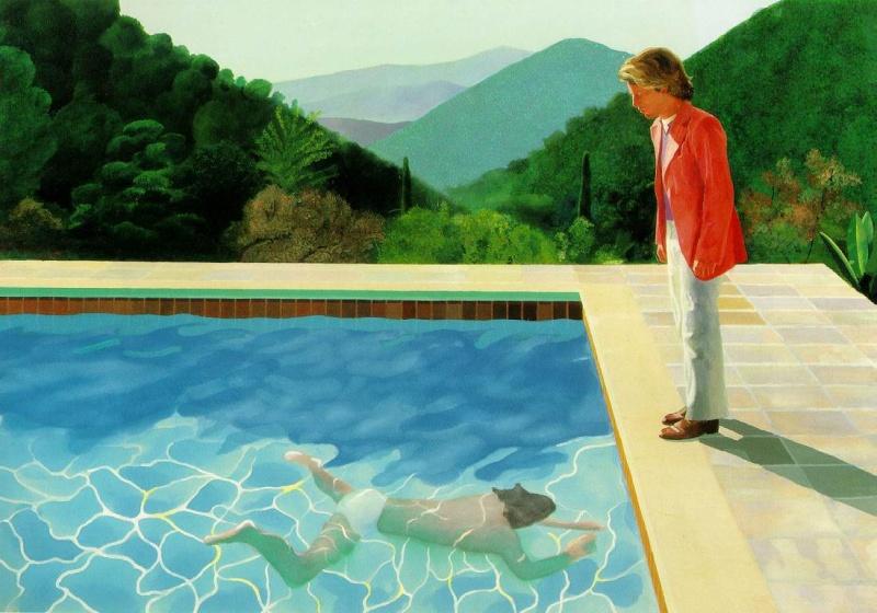 David Hockney Pool_w10