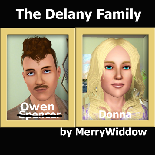 MerryWiddow's Sims & Households Delany11