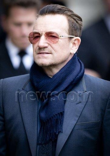 Bono e Ali alla commemorazione del principe Johan Friso 10049810