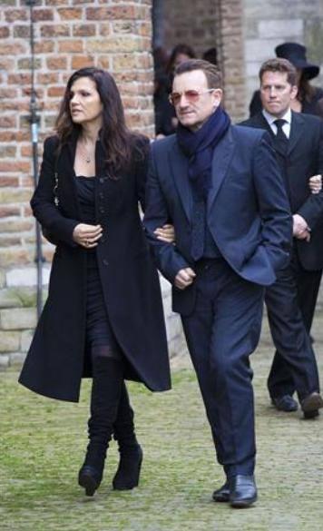 Bono e Ali alla commemorazione del principe Johan Friso 10127210