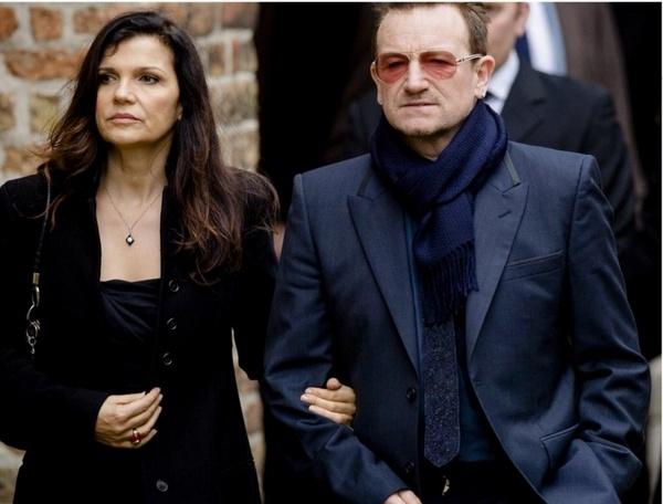 Bono e Ali alla commemorazione del principe Johan Friso 14223910