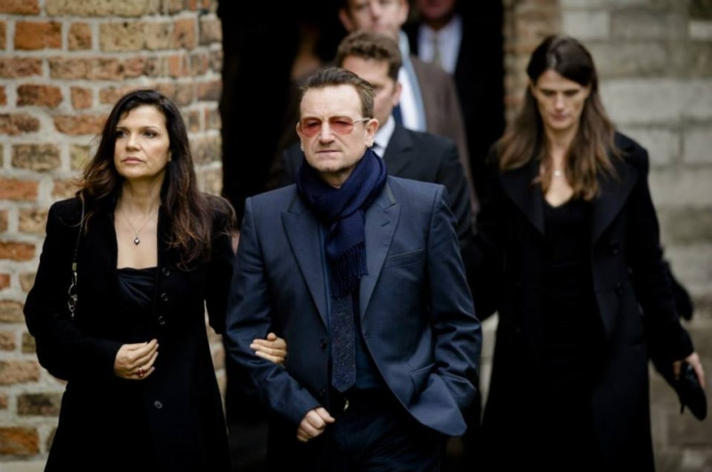 Bono e Ali alla commemorazione del principe Johan Friso 14508810
