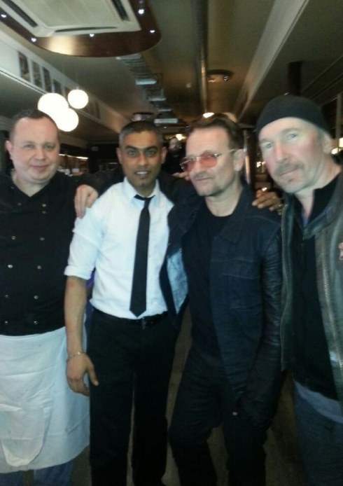 Gli U2 in studio a Londra con Paul Epworth? Lonson12