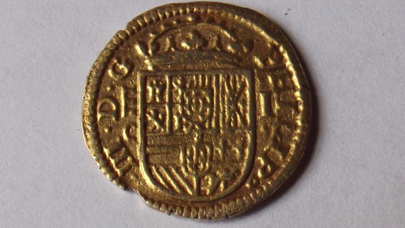 atelier pour escudo or Felipe III 1608 F3110