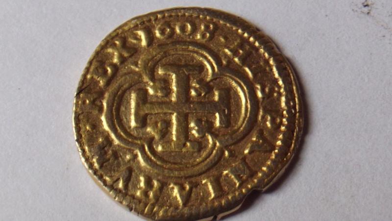 atelier pour escudo or Felipe III 1608 F3210
