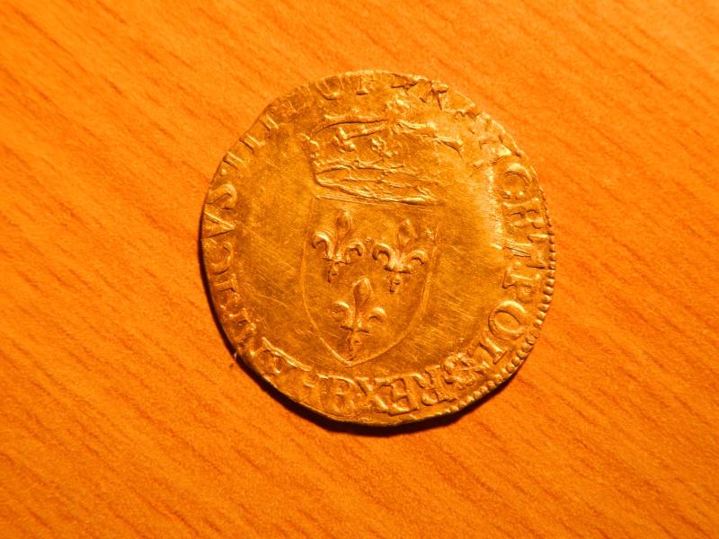 ecu d'or Henri III 1587 H110