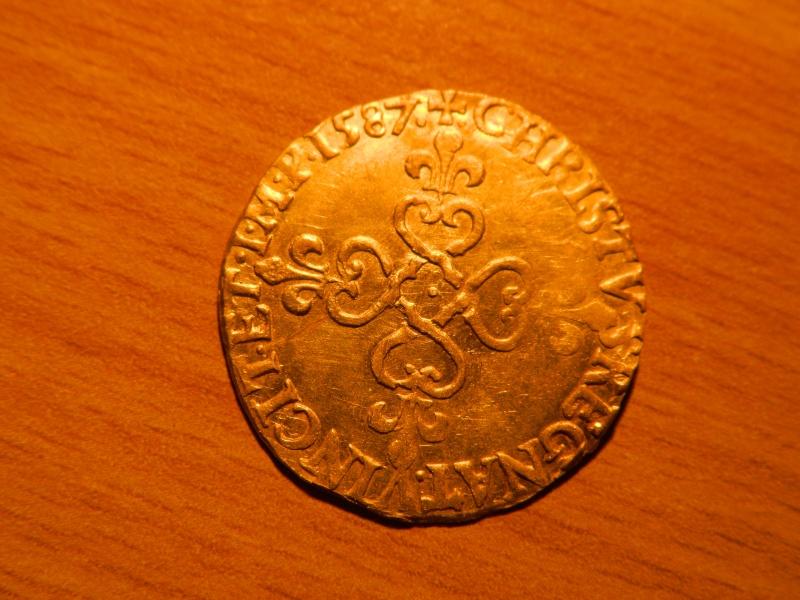 ecu d'or Henri III 1587 H210