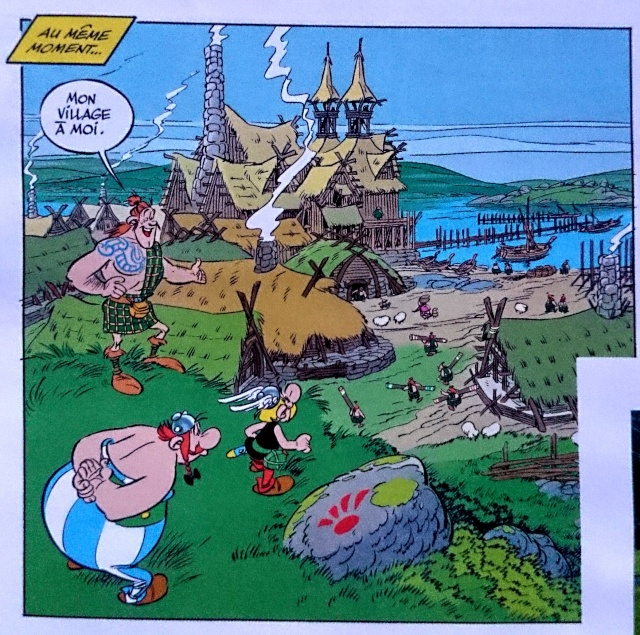 """""""Astérix chez les Pictes"""" tome 35 (24 octobre 2013) - Page 14 Dsc_0012"""