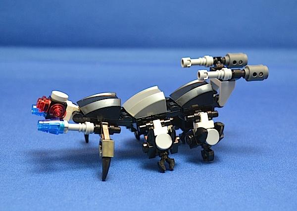 The Centipede, Titan Class Attack Mech Blaste10