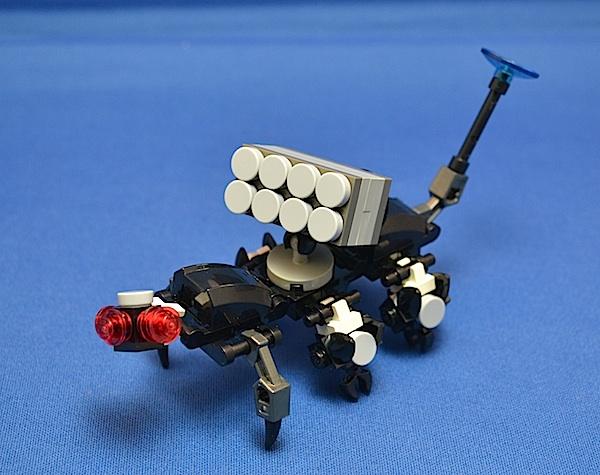 The Centipede, Titan Class Attack Mech Bomber10