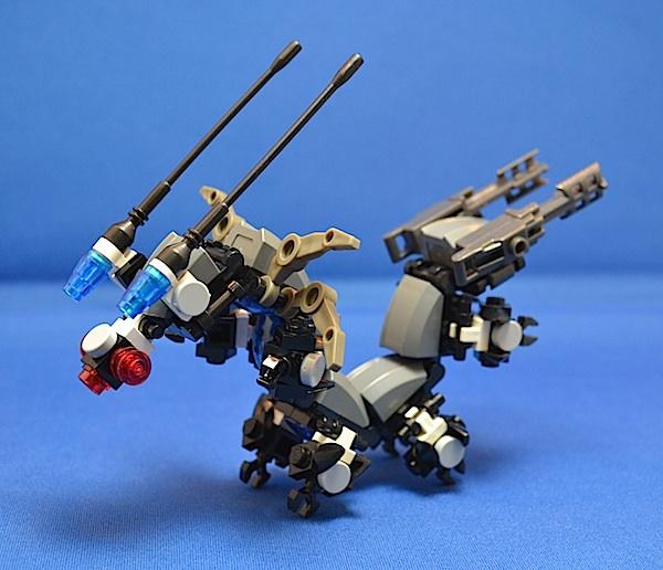 The Centipede, Titan Class Attack Mech Brainb10