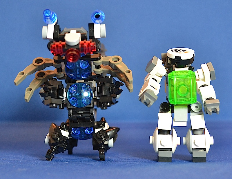 The Centipede, Titan Class Attack Mech Centip15