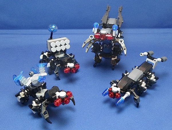 The Centipede, Titan Class Attack Mech Swarm111