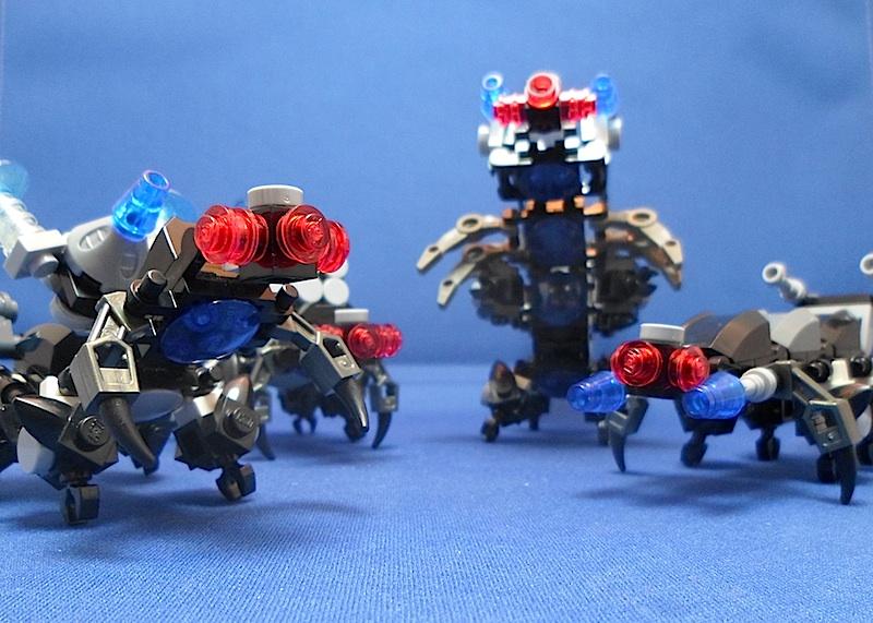 The Centipede, Titan Class Attack Mech Swarm212
