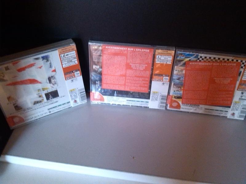 Jeux Dreamcast JAP neufs sous blister / Echange de préférence Dcjap211