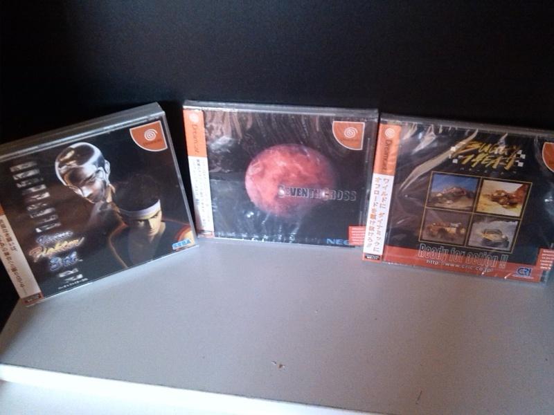 Jeux Dreamcast JAP neufs sous blister / Echange de préférence Img_2011